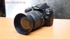 Зеркальный фотоаппарат Nikon D3000 kit 18-55 F3.5-5.6G VR б/у