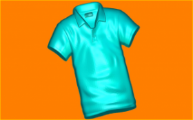 Форма для мыла и шоколада 519 - Рубашка поло
