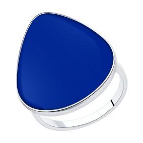 Кольцо из серебра с эмалью 94013126 SOKOLOV