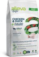Alleva Holistic Chicken & Duck + Aloe vera & Ginseng Maxi Полнорационный сухой корм для взрослых собак крупных пород, с курицей и уткой, 2 кг