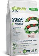 Alleva Holistic Chicken & Duck + Aloe vera & Ginseng Puppy Mini Полнорационный сухой корм для щенков мелких пород, беременных и кормящих сук с курицей и уткой, 0.8 кг