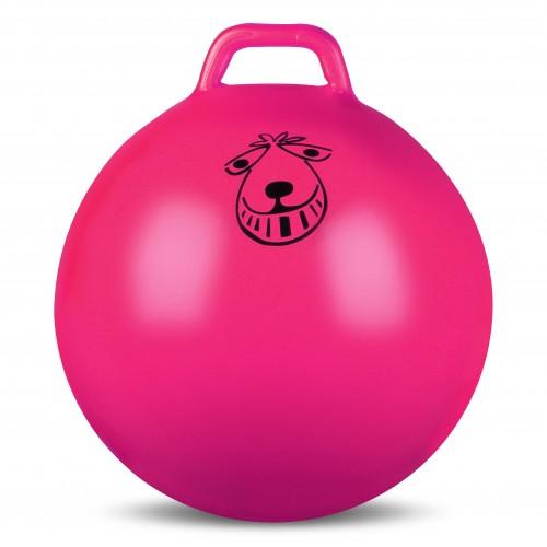 Мяч гимнастический с ручкой (фитбол) INDIGO IN093 65см