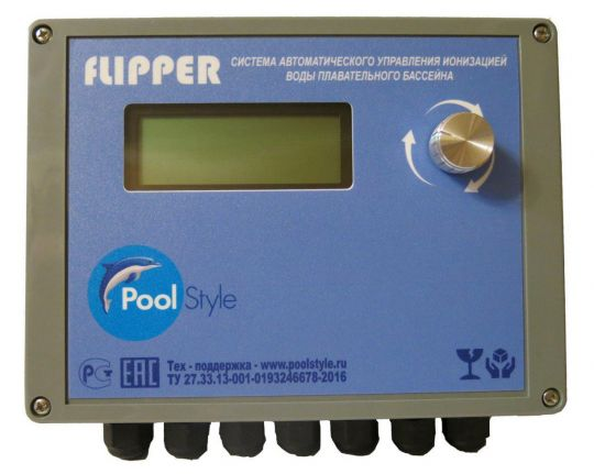 Система дезинфекции ионизацией, управления фильтрацией и нагревом воды Flipper