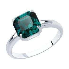Кольцо из серебра 94013125 SOKOLOV