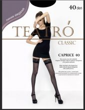 Чулки TEATRO Caprice 40 черные