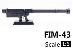Сувенирная сборная модель гранатомета ПЗРК FIM-43 Redeye 1:6