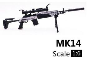 Сувенирная сборная модель снайперской винтовки MK 14  1:6