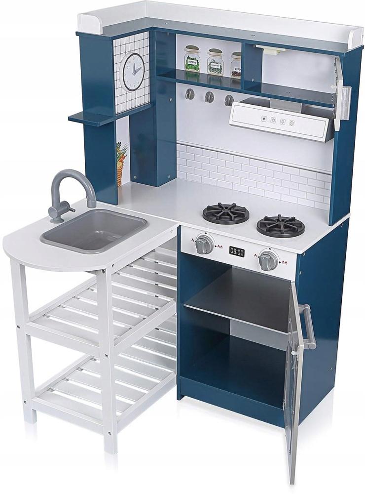 Интерактивная деревянная угловая кухня NORIMPEX NO-1002614
