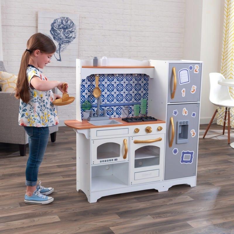Детская кухня Mosaic Magnetic KidKraft 53448