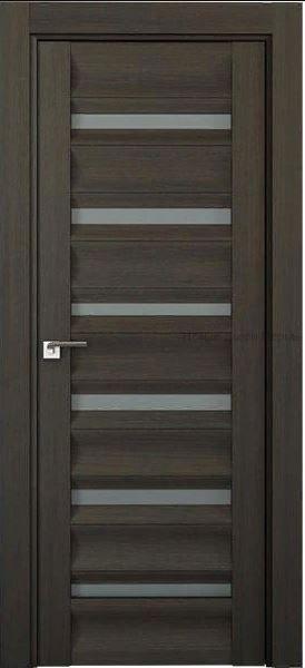 57Х Грей мелинга стекло графит PROFIL DOORS межкомнатная дверь