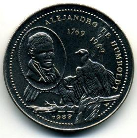 Куба 1 песо 1989