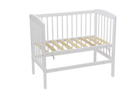 Кроватка детская приставная Polini kids Simple 100