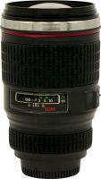 Термостакан-объектив Lens 350 мл чёрный