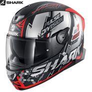 Шлем Shark Skwal 2 Noxxys, Черно-красный