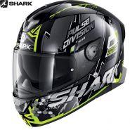 Шлем Shark Skwal 2 Noxxys, Желто-серебряный