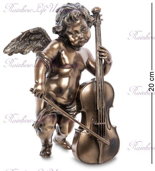 """Статуэтка Херувим с виолончелью """"Veronese"""""""