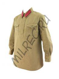Гимнастерка рядового состава РККА образца 1935 г. реплика,  (под заказ)