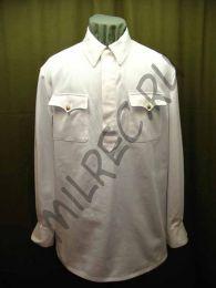 Гимнастерка летняя, белая для комначсостава обр. 1935 г.,  реплика  (под заказ)