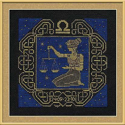 Набор для вышивания крестом Весы №1207 фирма Риолис