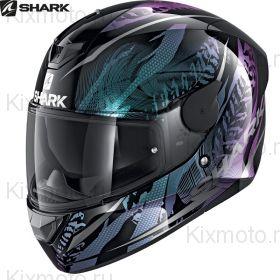 Шлем Shark D-Skwal 2 Shigan, Черно-фиолетовый