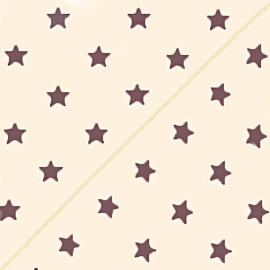 Польский хлопок со звёздами шампань 50х40см