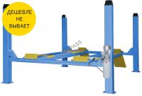 Четырехстоечный подъемник для развал схождения г/п 4 тонны TFA4500-3D380