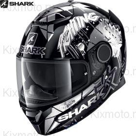 Шлем Shark Spartan 1.2 Repliсa Lorenzo Catalunya Gp, Белый