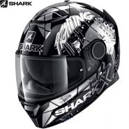 Шлем Shark Spartan 1.2 Repliсa Lorenzo Catalunya Gp, Белый