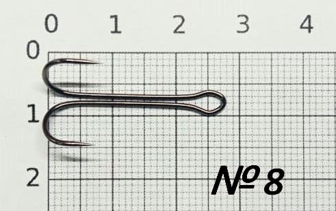 Крючок двойник KUMHO серия KH-11040