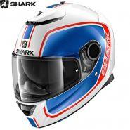 Шлем Shark Spartan 1.2 Priona, Сине-красный