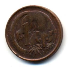 Австралия 1 цент 1969
