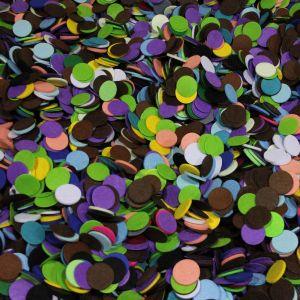 Фетровые пяточки 35мм, цвет МИКС №01 (1уп = 80г, около 510шт)