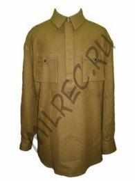 Гимнастерка (рубаха) суконная, комначсостава РККА, образца 1941 года,  реплика  (под заказ)