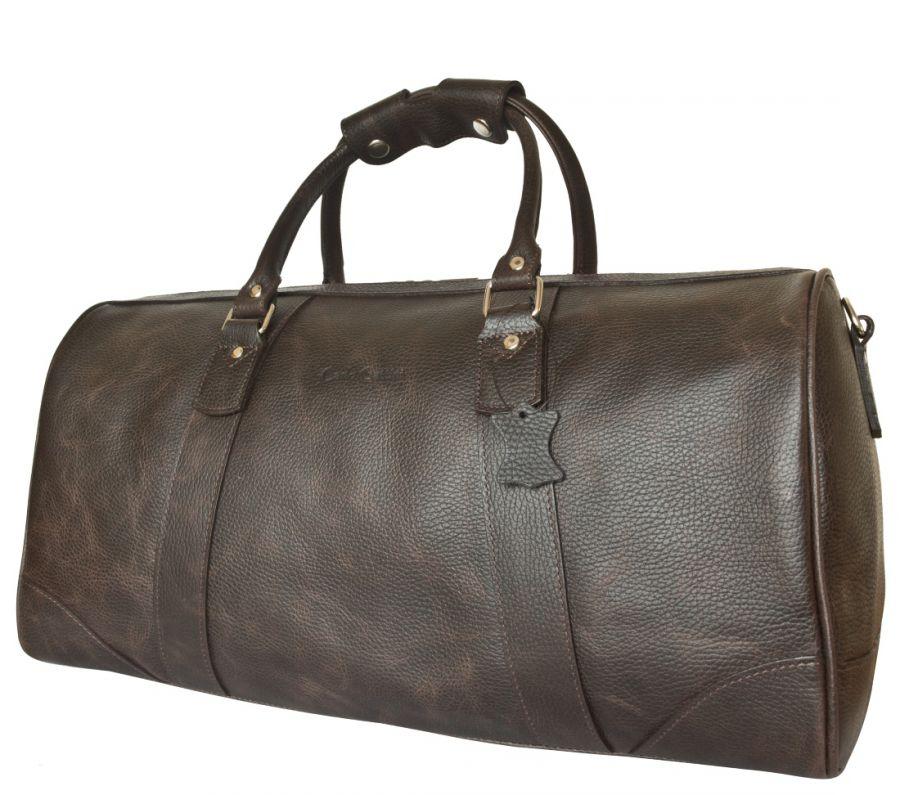 Кожаная дорожная сумка Carlo Gattini Gallinaro brown
