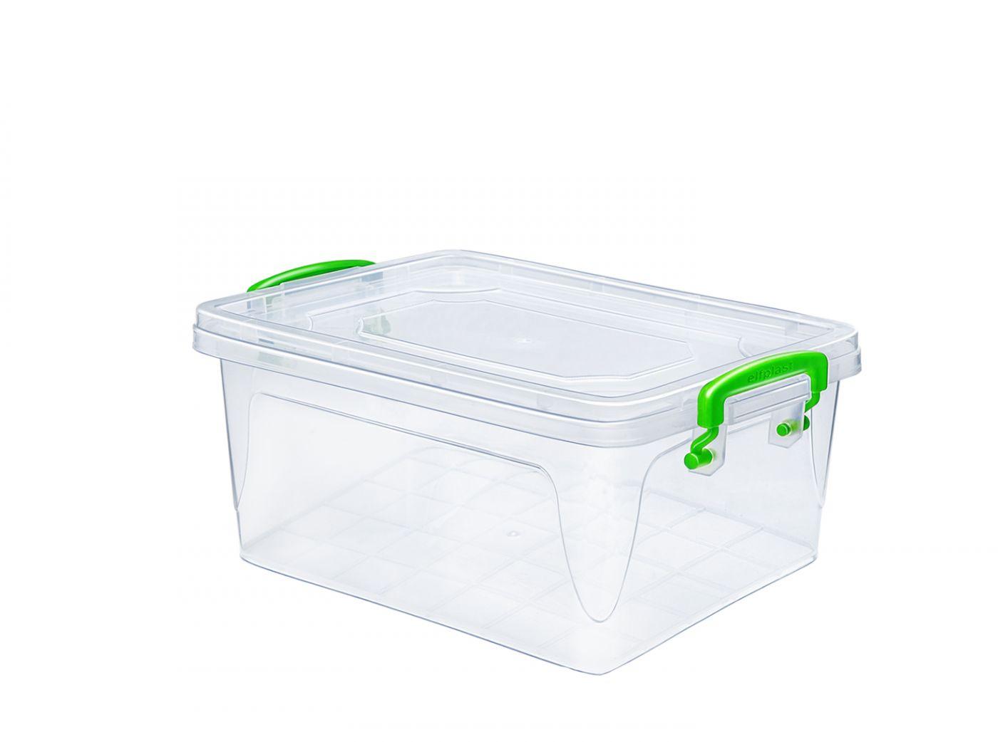 Контейнер для хранения Эльфпласт Fresh Box 3 литра с крышкой 25,5х17,3х11,5 см