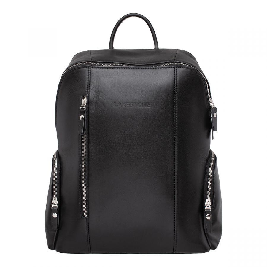 Кожаный рюкзак LAKESTONE Arlington Black