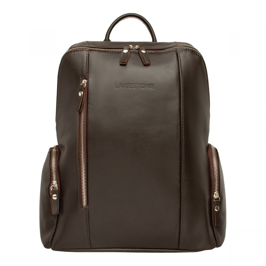 Кожаный рюкзак LAKESTONE Arlington Brown
