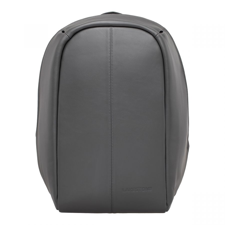 Мужской кожаный рюкзак LAKESTONE Blandford Grey