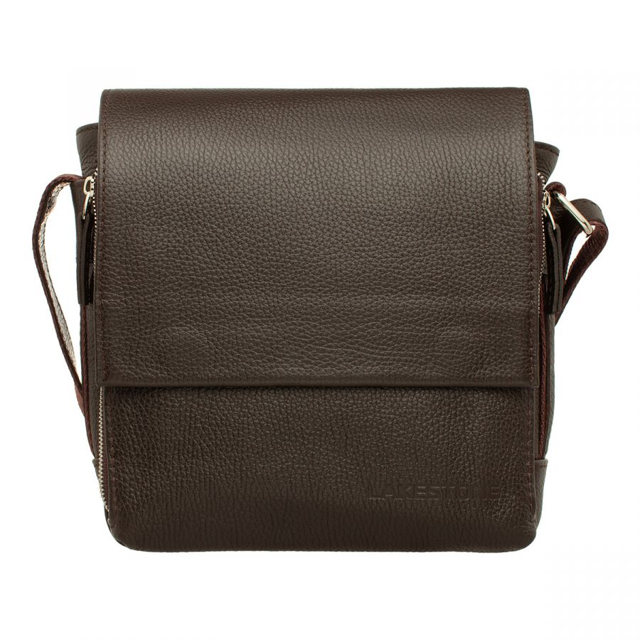 Мужская сумка через плечо LAKESTONE Norton Brown