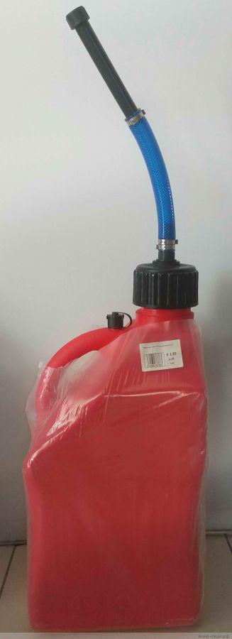 Канистра с носиком GKA 20 литров (Красная)