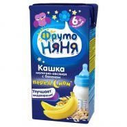 Кашка ФрутоНяня овсяная с бананом молочная 0.2л