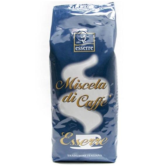 Кофе зерновой обжаренный Эссерре Промо 1000 гр., Caffe' Esserre 1000 gr.