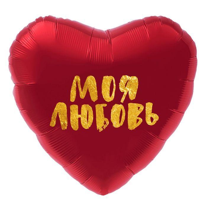"""Гелиевый шар """"Моя любовь"""""""