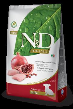 N&D Chicken & Pomegrante Puppy mini (Курица и гранат для щенков мелких пород)