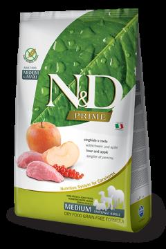 N&D BOAR & APPLE Adult medium & maxi (Кабан+Яблоко для взрослых собак средних и крупных пород)