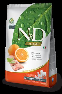 N&D FISH&ORANGE Adult б/з ( Рыба+апельсин для взрослых собак всех пород)