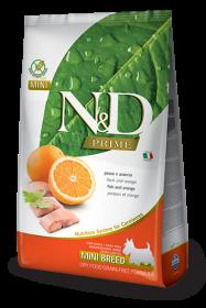N&D FISH&ORANGE Adult mini б/з ( Рыба+апельсин для взрослых собак мелких пород)
