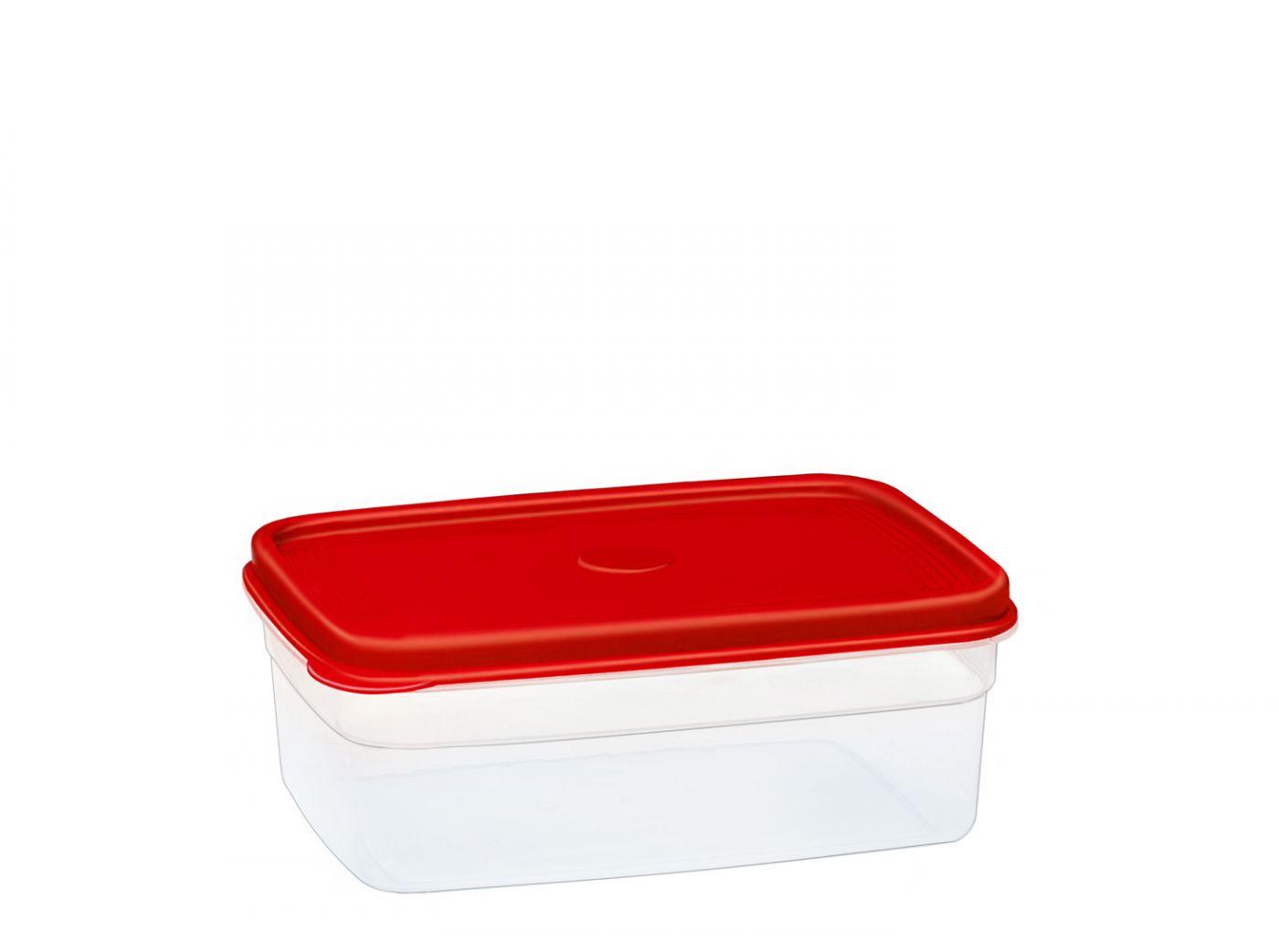 Бутербродница прямоугольная 0,5 литра Эльфпласт контейнер для хранения еды с крышкой 14x10x5,3 см