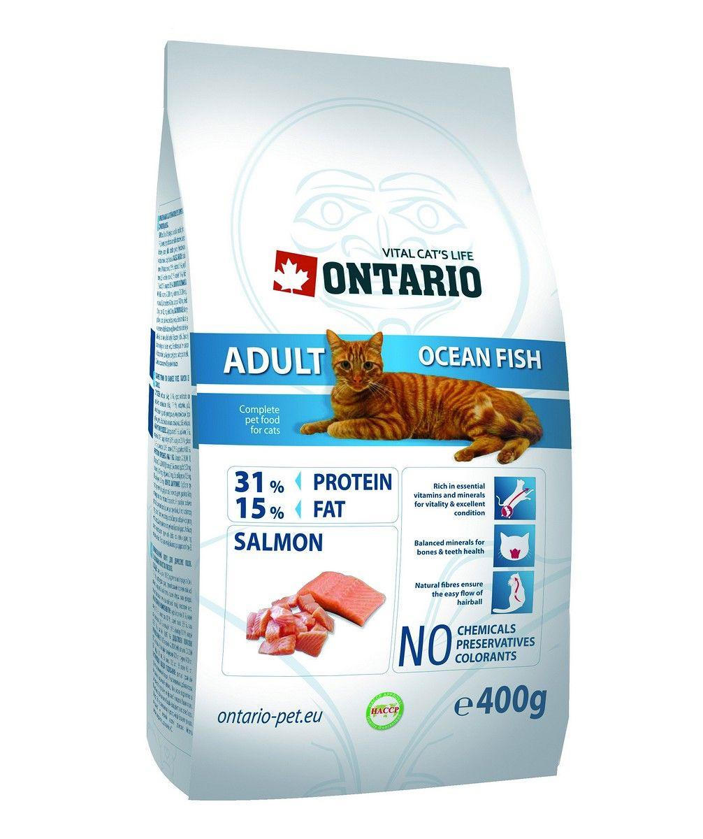 Ontario Для взрослых кошек с морской рыбой