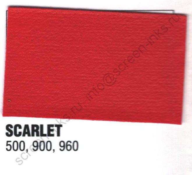 Краска пластизоль Excalibur 500 Scarlet  / Красный (5 кг.)
